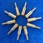 科美 陶瓷钻孔器 玻璃打孔磨头 薄壁效率高 实心/空心均可